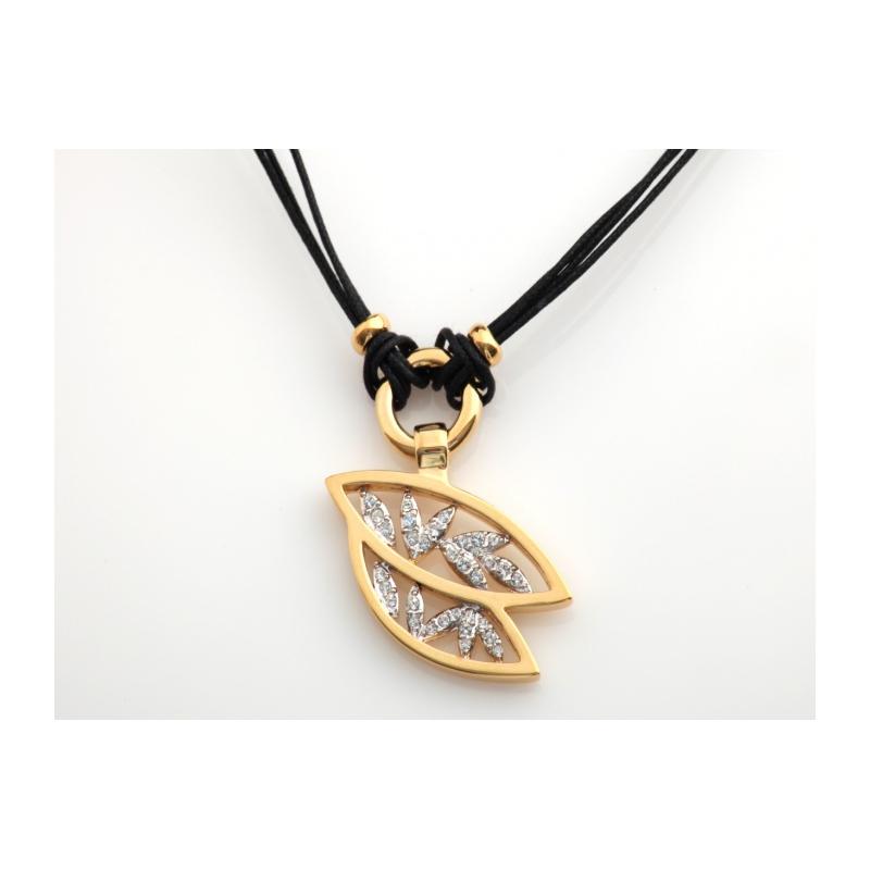 654b2f028 Náhrdelník so Swarovski Elements krištáľmi v porhodiovanom špeciálnom  zlatníckom kove.