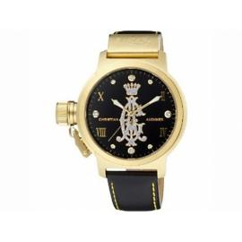 Christian Audigier hodinky PURE s koženým remienkom.