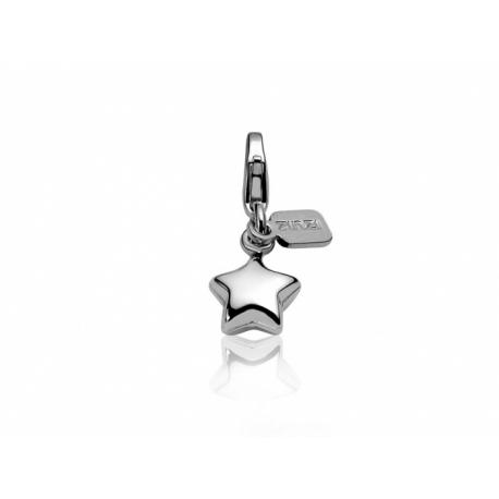 Zinzi strieborný prívesok s karabínkou - hviezda, s možnosťou uchytenia na náhrdelník alebo na náramok.