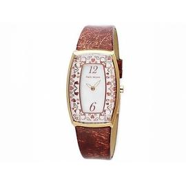 Paris Hilton hodinky s obdĺžnikovým ciferníkom a s koženým náramkom