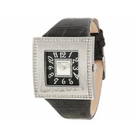 Paris Hilton hodinky so štvorcovým ciferníkom s koženým remienkom.