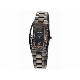 Paris Hilton hodinky s obdĺžnikovým ciferníkom a s kovovým náramkom