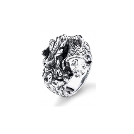 Ed Hardy prsteň z chirurgickej ocele