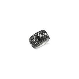 Ed Hardy prsteň so Swarovski krištálmi